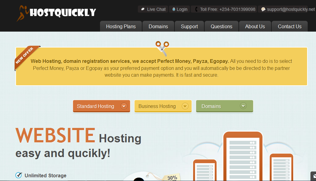 HostQuickly screenshot