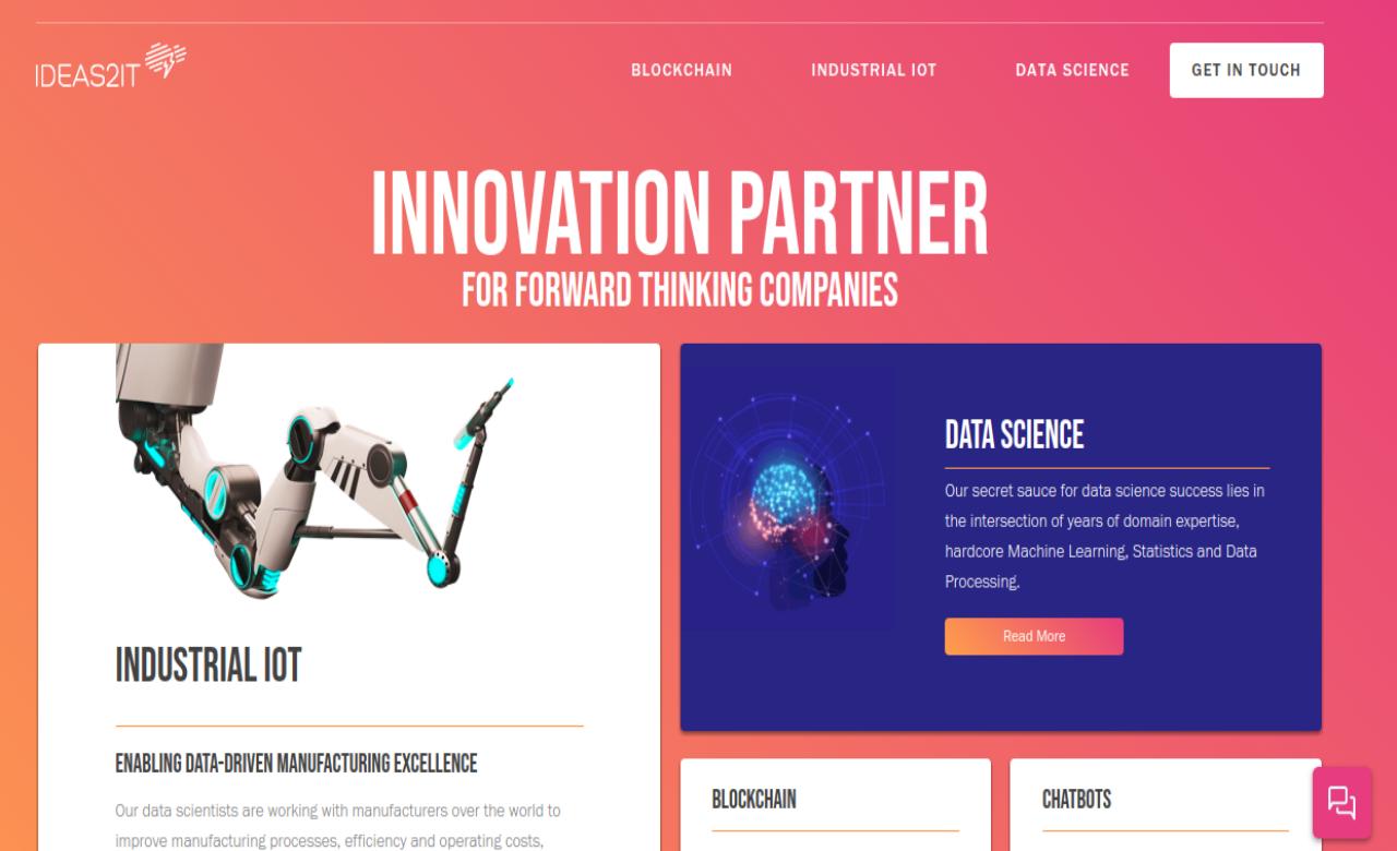 Ideas2IT Technologies screenshot