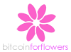 BitcoinForFlowers.com logo