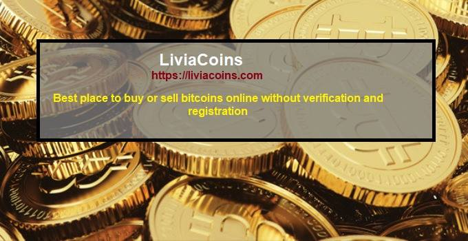LiviaCoins Inc. screenshot