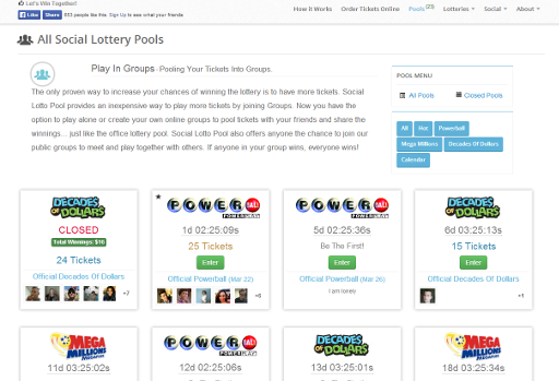 Social Lotto Pool screenshot