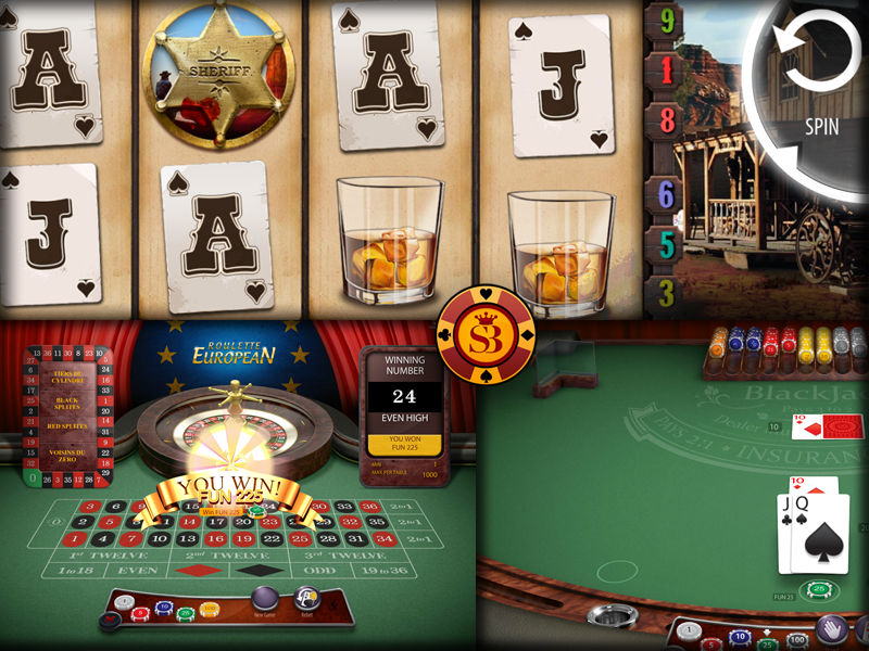 StickyBet Online Casino screenshot