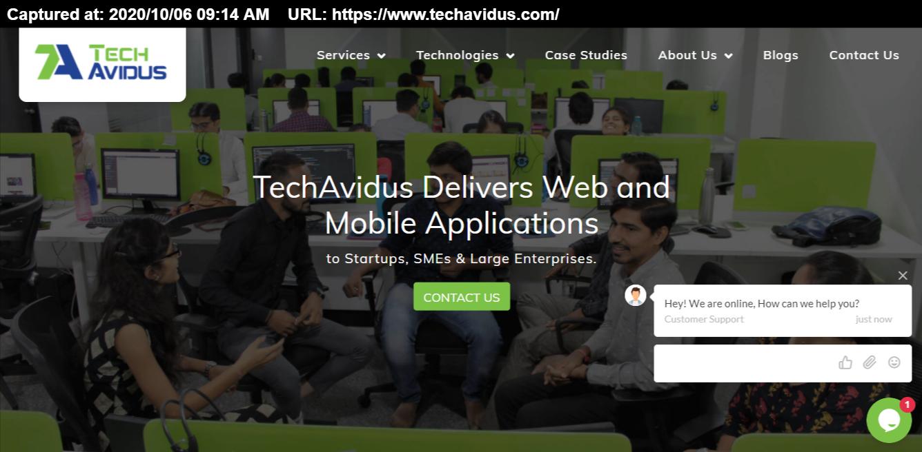 TechAvidus screenshot