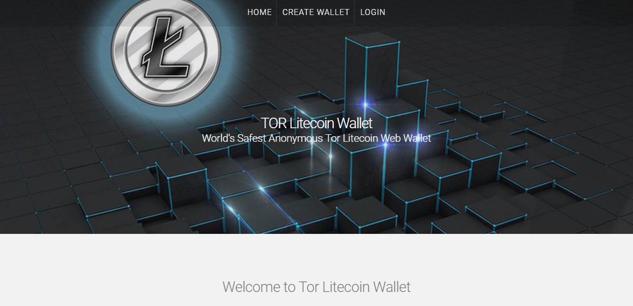 Tor Litecoin Wallet screenshot