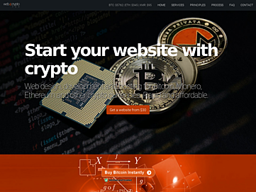 Web4Crypto screenshot