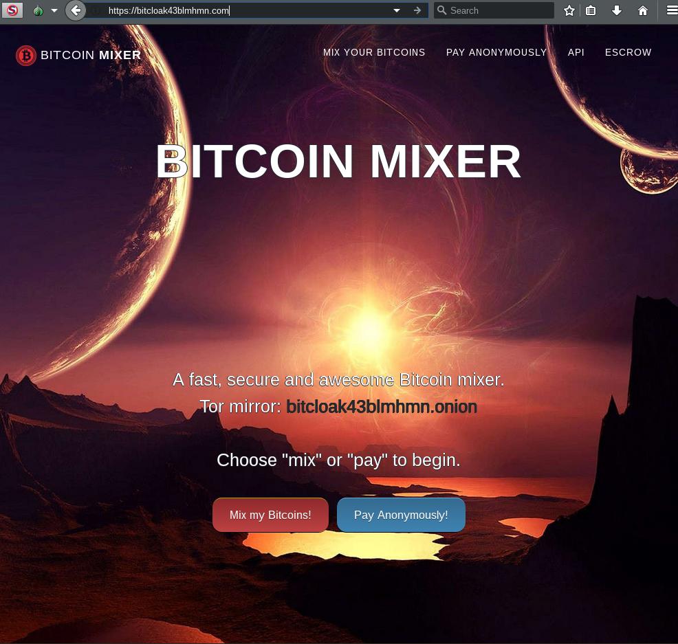 BitCloak Bitcoin Mixer - 66 Reviews - Bitcoin Escrow