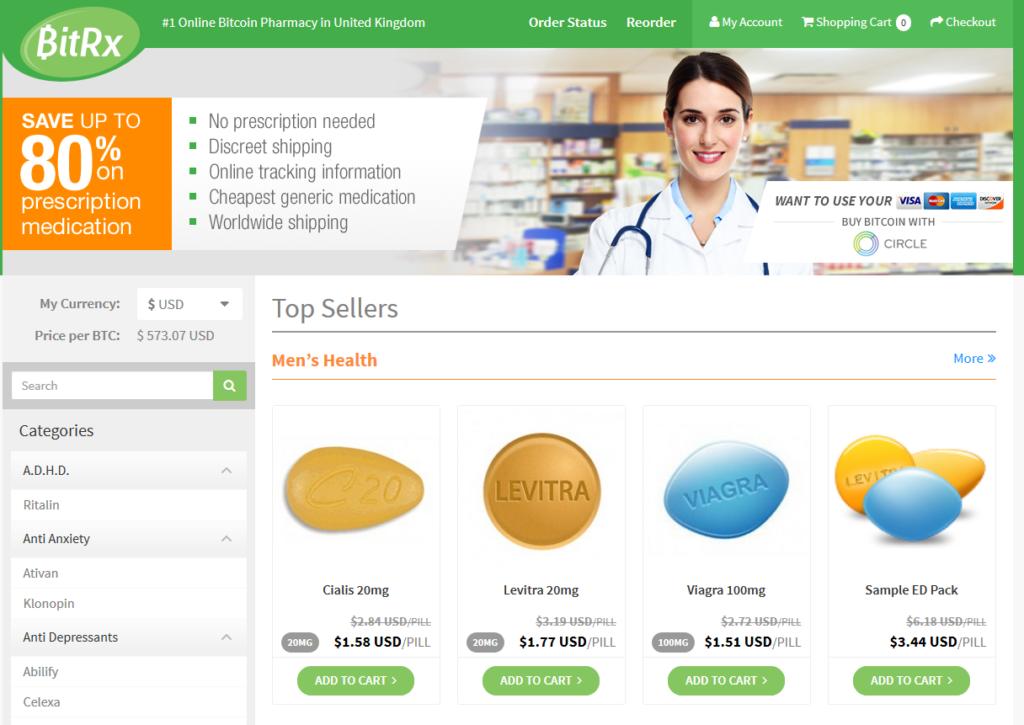 bitcoin pharmacy