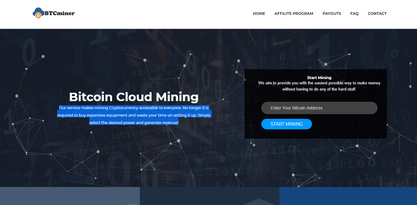 BTCminer website - 18 Reviews - Bitcoin Free Bitcoins - BitTrust org
